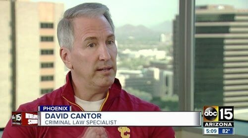 David Cantor on ABC 15 News
